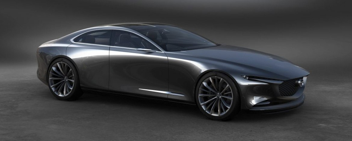 Vision Coupe Most Beautiful Concept Car Of The Year Angevaare Mazda