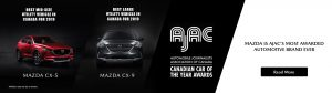"Mazda's CX-5 and CX-9 both received ""Best in Category"" Awards from AJAC in 2019."